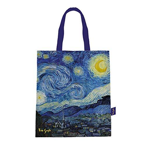 """Van Gogh, Bolsa con estampado de """"Noche Estrellada"""", Enesco"""