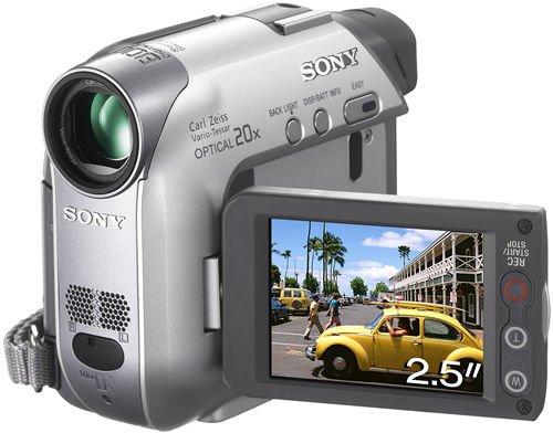 """Sony Camcorder MiniDV DCR-HC22E 0,8 MP CCD - Videocámara (0,8 MP, CCD, 25,4/6 mm (1/6""""), 20x, 800x, 2,3-46 mm)"""