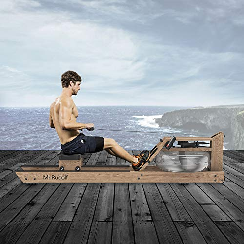 Mr Rudolf Natural Oak Water Rower