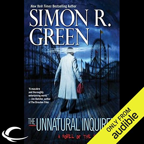 The Unnatural Inquirer audiobook cover art