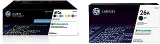 $535 » HP 410A | CF410A, CF411A, CF412A, CF413A | 4 Toner Cartridges | Black, Cyan, Magenta, Yellow & 26A | CF226A | Toner Cartri...