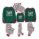 Fossen MuRope Pijamas Familiares Iguales, Conjunto de Pijama Navidad, Pijamas Niño Recien Nacido Bebe Mujer Baratos Pijama Hombre