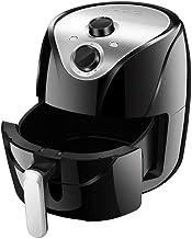 BTSSA Freidora de Aire sin Aceite, Capacidad 5.5 l, 1400W, Cesta Antiadherente, selector de Temperatura 80-200°, Apagado automático. Libre de BPA. Diseño Exclusivo