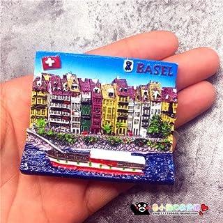 Navy e : France Switzerland Germany Tourism Scenery Fridge Magnets Fridge Magnet Souvenir Home Decor Accessories