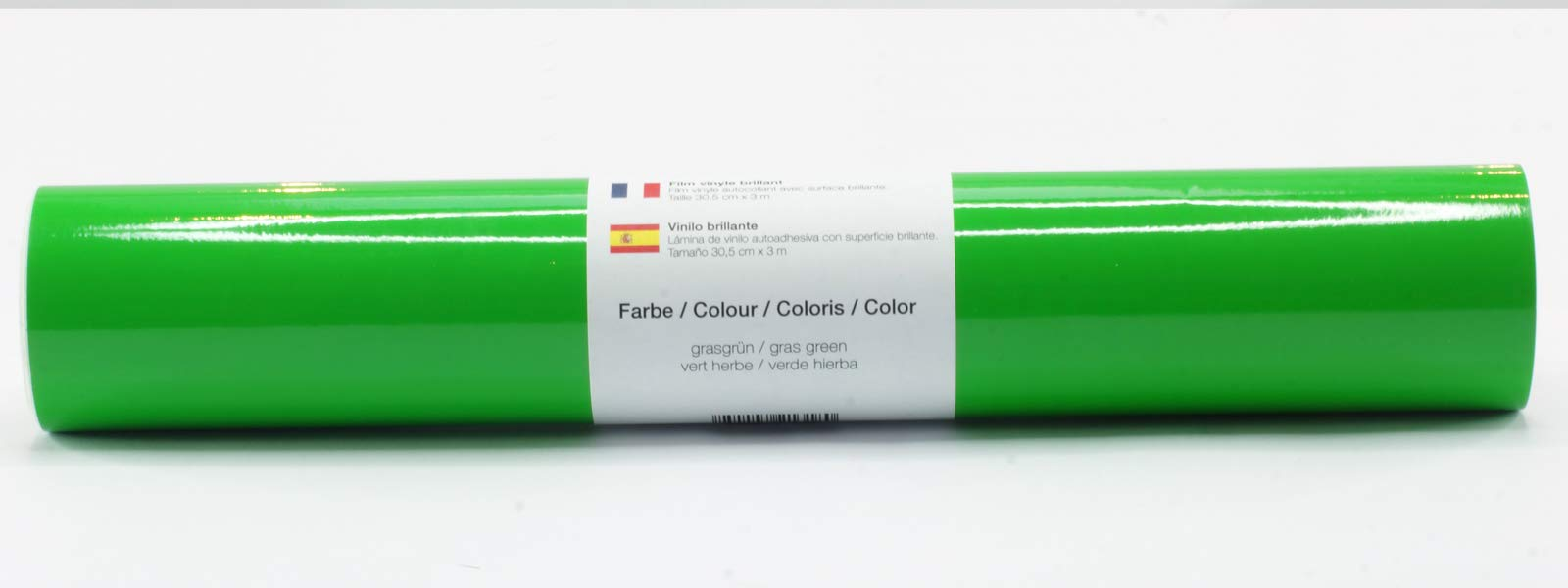 Lámina de plotter autoadhesiva lámina de vinilo 21 cm x 3 m brillo 39 colores a elegir, Glänzend L-Serie:Verde Hierba: Amazon.es: Hogar