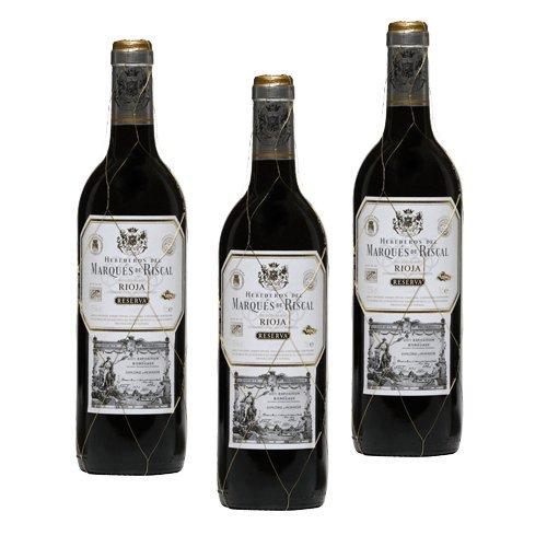 Marqués de Riscal Reserva - Vino Tinto- 3 Botellas