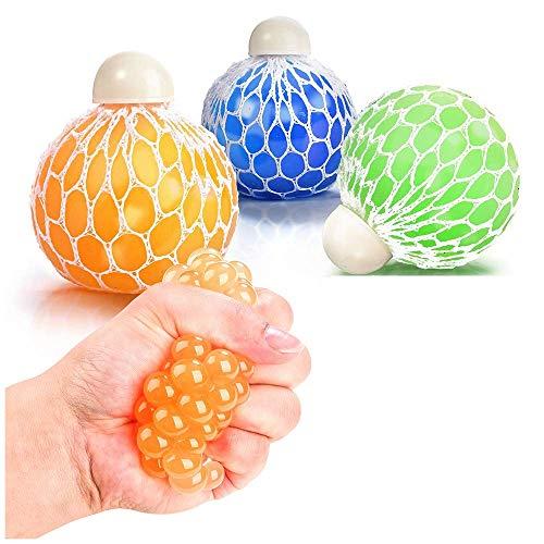 OleOletOy Anti Stress Bälle für Kinder und Erwachsene 3 STK. Stressball - Top Stressabbau und Anti Angst Spielzeug und Geschenk für ADHS