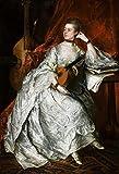 DIY 5D Pintura Diamante Thomas Gainsborough Ann Ford DIY Pintura de Diamantes para Adultos y Niños, Decoración de la Pared del Hogar 5D Diamond Painting Kit