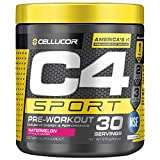 C4 Sport Pre Workout Powder Watermelon - NSF Certified for Sport + Preworkout Energy Supplement for Men & Women - 135mg...