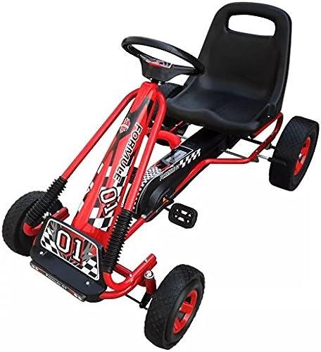 Arichtop Go Kart Rot 96 x 60 x 56 cm