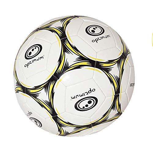 OPTIMUM Football Classico Herren-Fußball, Gelb Schwarz, 5