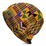 Lsjuee African Colorful Patterns Adult Men Baggy Hedging Head Cap
