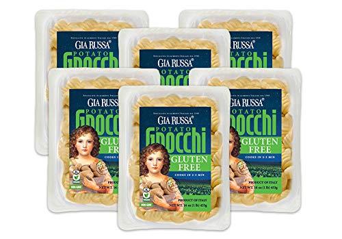 Gia Russa Gluten Free Gnocchi with Potato 16 oz (6 Pack)
