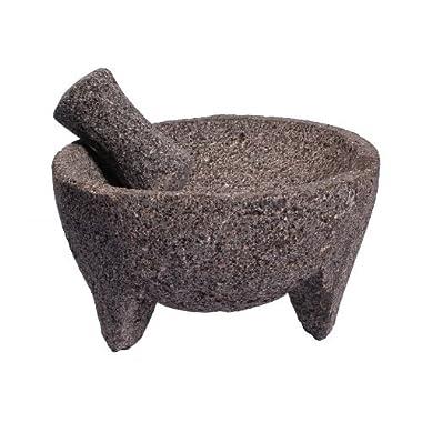 Ancient Cookware Lava Stone Molcajete