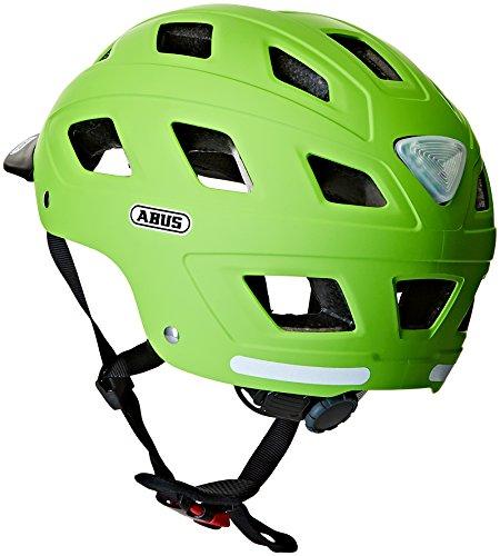 Abus Erwachsene Fahrradhelm Hyban, Green, 52-58 cm - 2