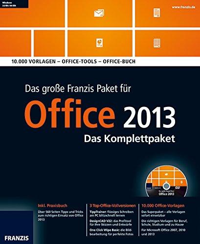 Das große Franzis Paket Office 2013, DVD-ROM [import allemand]