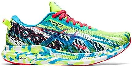 ASICS Men's Noosa Tri 13 Running Shoes, 12, Hazard Green/Digital Aqua