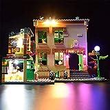 LINANNAN Light Set para Lego Sesame Street 21324, Kit de iluminación LED Compatible con Lego 42111 DOMS Dodge CARGER (Modelo DE Lego NO Incluido)