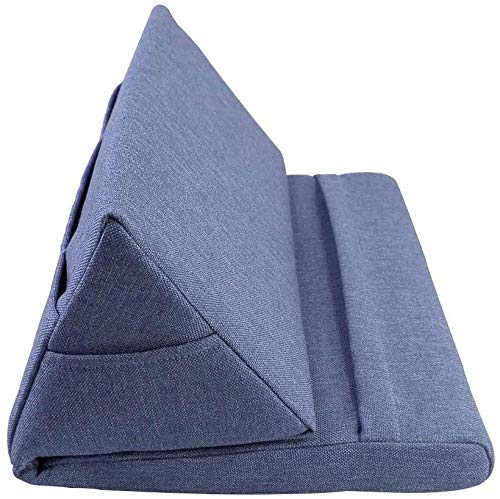 YAYY 1 Stks Kleurrijke Opvouwbare Laptop Tablet Kussen Tablet Houder Book Stand Foam Lap Rest Lezen Kussen (Upgrade)
