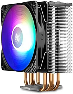 DEEPCOOL GAMMAXX GT A-RGB CPU Air Cooler SYNC A-RGB Fan and Black Top Cover Cable or Motherboard Control Supported 4 Heatpipes 120mm A-RGB Fan Universal Socket Solution (B088LW5HS1) | Amazon price tracker / tracking, Amazon price history charts, Amazon price watches, Amazon price drop alerts