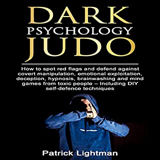 Page de couverture de Dark Psychology Judo