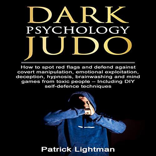 Page de couverture de Dark Psychology Judo