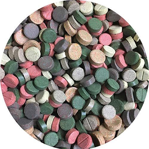 Futtertabletten TABLETTENMIX Hafttabletten Tablettenfutter Zierfisch 7 Sorten (1 l)