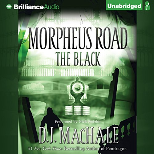 The Black audiobook cover art