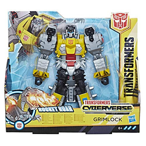 Hasbro Transformers E1908ES0 - Cyberverse Action Attackers Ultra Figur Grimlock Roboter-Actionfigur