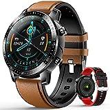 Smartwatch con Cuffie Bluetooth Sport Offerte, DUODUOGO Smartwatch Donna Uomo 2020 Impermeabile IP67, Fitness Tracker attività con Cardiofrequenzimetro, Smartwatch Offerta Del Giorno per Android iOS
