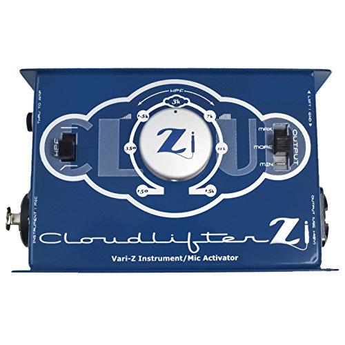 Cloud Microphones Cloudlifter CL-Zi Mikrofonvorverstärker (aktive DI-Box, Neutrik-Combo-Eingang, Vorverstärkung bis zu +25 dB, variable Gainschaltung, variabler Hochpassfilter, XLR-Ausgang) blau