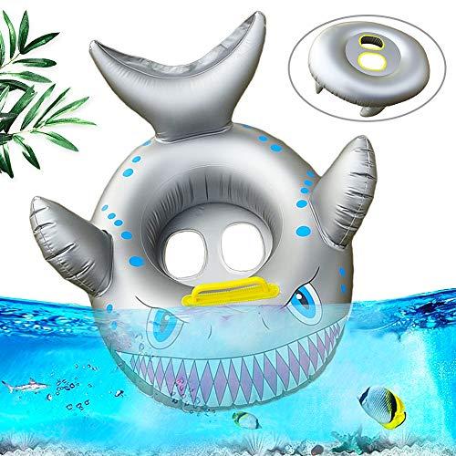 Baby Swimming Ring,Barca gonfiabile per Bambini,Seggiolino per Nuoto Squalo,Seggiolino per Nuoto Squalo,Materassino Gonfiabile di Piscina