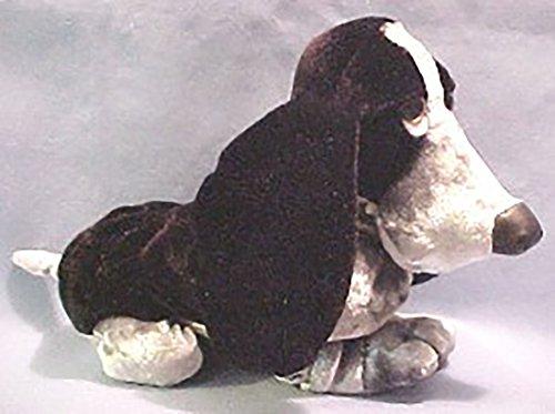 Hush Puppies Plush Velvet Black Basset Hound Stuffed Animal