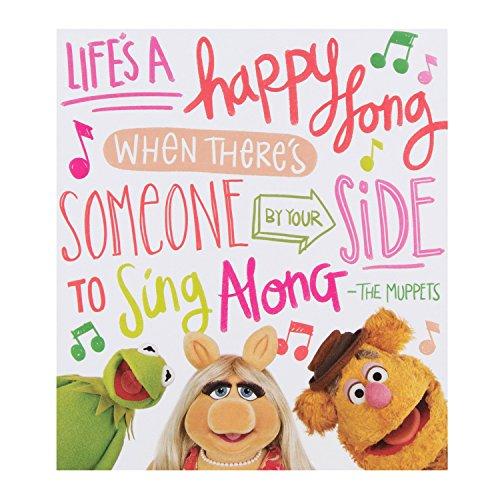 Hallmark Disney Muppets verjaardagskaart