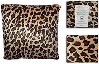 HealthmateForever High Quality Vibrating Neck Relief Massage Pillow for Neck (Large Leopard)