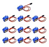 FPVKing SG90 Micro Servo Motor 9G for RC Robot Arm Helicopter Airplane Remote Controls(10Pcs)