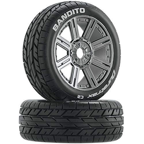 Duratrax x-Cons Maßstab 1: 8RC Buggy Reifen mit Schaumstoff-Einsätzen, montiert