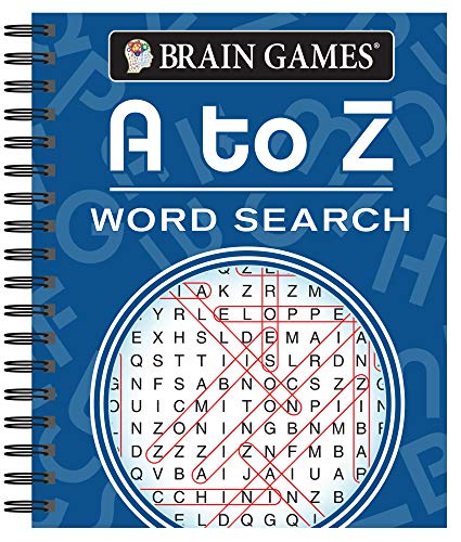 Compare Textbook Prices for Brain Games - A to Z Word Search  ISBN 9781640302716 by Publications International Ltd.,Brain Games