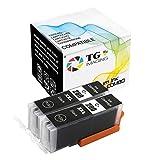(2 x Black) TG Imaging Compatible PGI280 PGI280XXL Ink Cartridge (Super High Yield), for Canon PIXMA TS6120, TR7520, TS8120, TR8520, TS9120 Printer