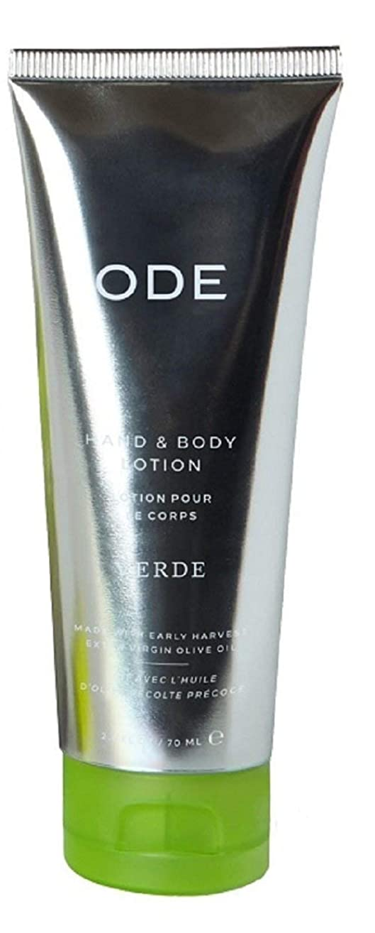 ODE natural beauty - Verde Hand & Body Lotion Tube