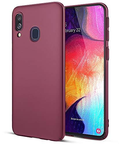 EIISSION Handyhülle Kompatibel mit Samsung Galaxy A40 Hülle, Hardcase Ultra Dünn Samsung Galaxy A40 Schutzhülle aus Hart-PC Case Cover Handyhülle für Samsung Galaxy A40- Lila