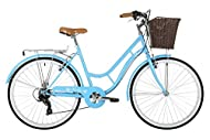 Hi Ten Steel loop classic frame design Hi-ten steel classic fork Shimano Tourney 7 Speed gears with Shimano Revo twist shifter and Shimano freewheel V-Brakes with alloy with plastic levers Ergonomic classic shape handle bars for the most comfortable ...