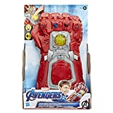 Avengers Marvel Endgame Red Infinity Gauntlet Electronic Fist Roleplay Toy with...