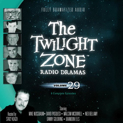 The Twilight Zone Radio Dramas, Volume 29 audiobook cover art