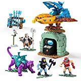 Mega Brands - Construx Masters of The Universe Set da Costruire Avamposto del Terrore, Include 3 Micro Action Figure, 8+ Anni, GPH24