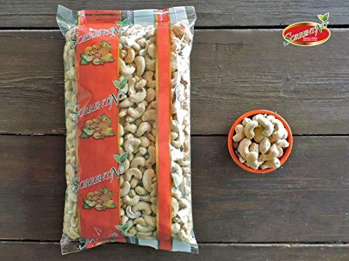 Anacardi Crudi Senza Sale - Pacchetto 1 kg - Al naturale - Anacardi di QUALITA' - Sgusciati - SORRENTINO Fruttaseccaesalute