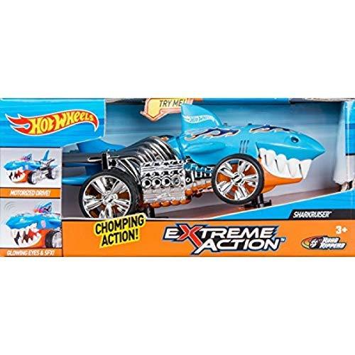 Hot Wheels 90512 Coche luz sonidos SharkRuiser Extreme