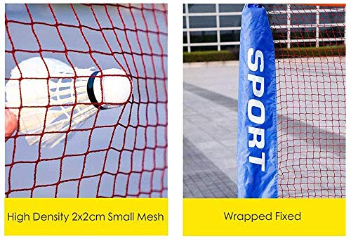 Filet De Tennis Standard Professionnel // Filet De Volleyball // Filet De Badminton Filet De Jeux Filet De Badminton Portable Filet Combin/é Multi-sports Filet De Volleyball /À Configuration Facile