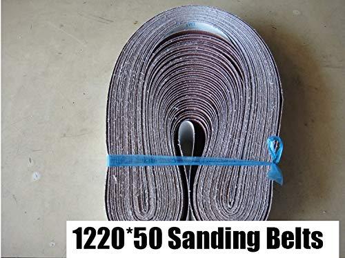 NO LOGO LT-Discs, 10 Piezas 50x1220mm A/S abrasivo Bandas abrasivas 2