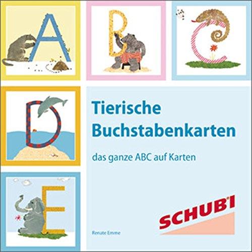 Tierische Buchstabenkarten: das ganze ABC auf Karten